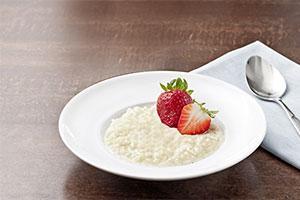 Recept beljakovinski vanilijev mlečni riž