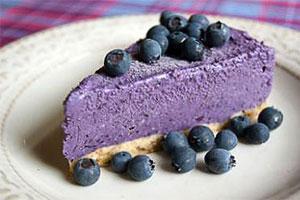 Proteinski borovničev kolaček