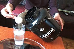 Beljakovinski shake z ogljikovimi hidrati