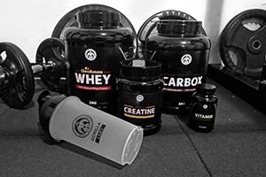 Fitnes paket za mišično maso