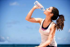 voda in hujšanje